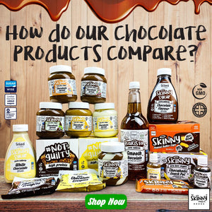 How Do Our Chocolate Products Compare? | theskinnyfoodco