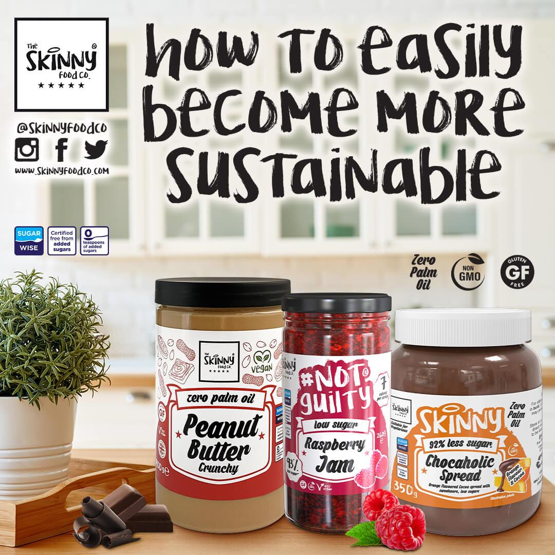 How To Easily Become More Sustainable | theskinnyfoodco