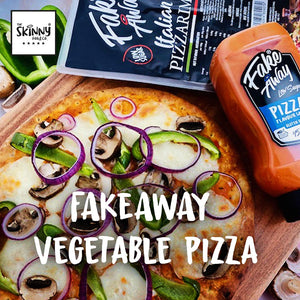 How To: FAKE AWAY® Vegetable Pizza | theskinnyfoodco