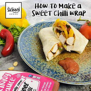 How To: Sweet Chilli Chicken Wrap | theskinnyfoodco