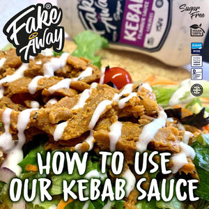 How To: Vegan Kebab Wrap | theskinnyfoodco