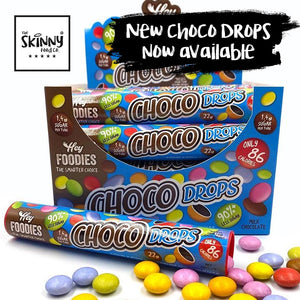 Introducing Choco Drops from Hey Foodies - new product launch! | theskinnyfoodco
