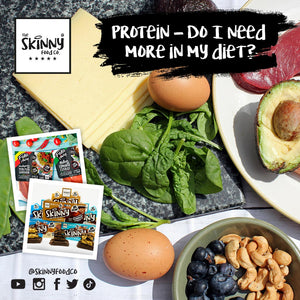 Protein - Do I Need More In My Diet? | theskinnyfoodco