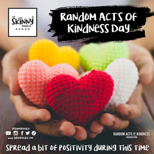 Random Acts of Kindness Day | theskinnyfoodco
