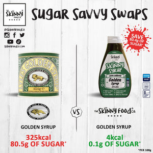 Savvy Sugar Swaps: The Skinny Food Co Vs. Major Brands | theskinnyfoodco