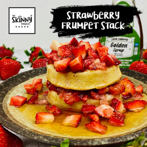 Strawberry Frumpet Stack | theskinnyfoodco