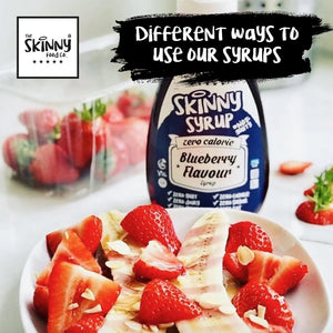 WAYS TO USE OUR SWEET SYRUPS | theskinnyfoodco