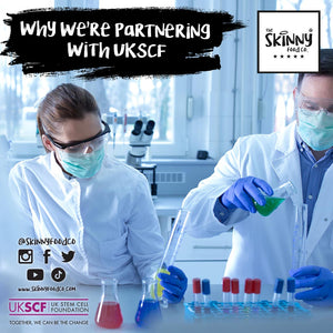 Why We're Partnering With UKSCF | theskinnyfoodco