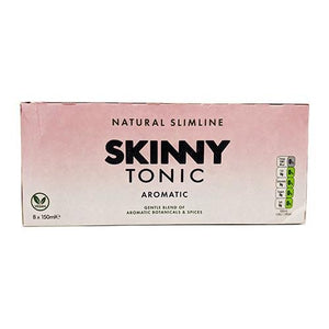 8 x Skinny Tonic - 7 Flavours Available (150ml Cans x8) - theskinnyfoodco