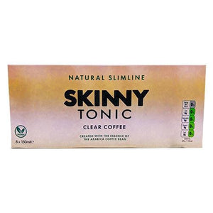 8 x Skinny Tonic - 8 Flavours Available (150ml Cans x8) - theskinnyfoodco