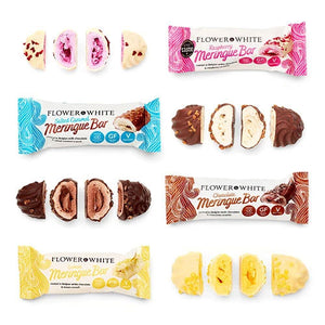 Low Calorie Meringue Bars - Less than 100 Calories (6 Flavours) - theskinnyfoodco