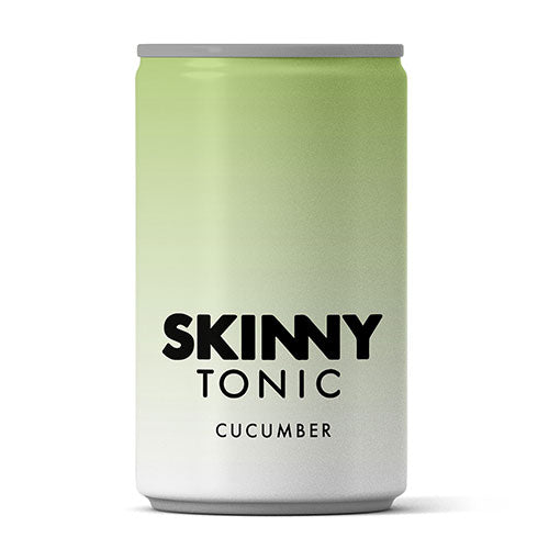 Skinny Tonic - Cucumber Tonic Water (150ml Can) - theskinnyfoodco