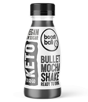 BOOSTBALL BULLET READY TO DRINK KETO SHAKE 310ml - theskinnyfoodco