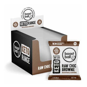 Boostball Keto Balls - Box of 12 Units (12 x 40g) - theskinnyfoodco