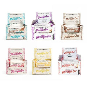 BOX 12 x Low Calorie Meringue Bars - Less than 100 Calories (6 Flavours Available) - theskinnyfoodco