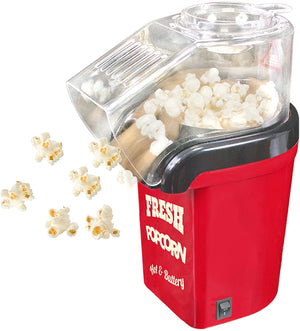 Fat Free Hot Air Popcorn Maker - Includes 4 Popcorn Bags - theskinnyfoodco