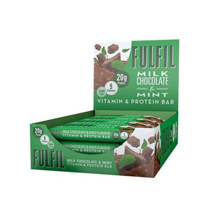 FULFIL Vitamin and Protein Snack-Size Bar (15 x 55g Bars) 15g Protein, 9 Vitamins. (8 Flavours) - theskinnyfoodco