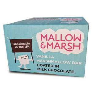 Full Box 12 x Marshmallow Snack Bars (12 x 30-35g) 4 Flavours - theskinnyfoodco