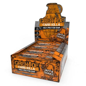 Grenade Carb Killa Low Sugar Bar (12 x 60g Bars) 12 Flavours - theskinnyfoodco