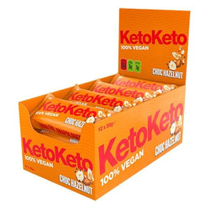 KetoKeto 12 x 50g (Full Box) - theskinnyfoodco