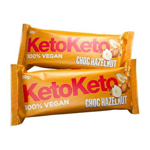 KetoKeto 50g Bar - theskinnyfoodco