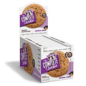 Lenny & Larry's Complete Cookie - Oatmeal Raisin 12 x 113g - theskinnyfoodco