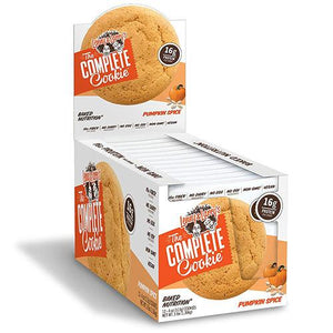 Lenny & Larry's Complete Cookie - Pumpkin Spice 12 x 113g - theskinnyfoodco