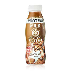 Maximuscle Protein Milk 330ml Bottle - 25g Protein Per Serving - theskinnyfoodco