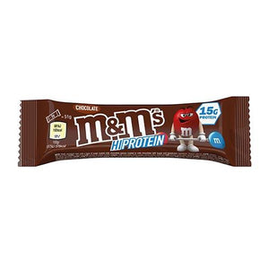 Chocolate M&M's Hi-Protein Bar (12 x 51g Bars) - 15g Protein per serving - theskinnyfoodco