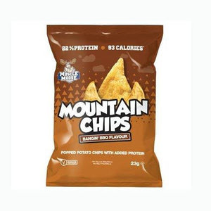 Mountain Chips High Protein Crisps 22% Protein 99 Calories Per Pack - theskinnyfoodco