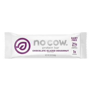 No Cow | Natural Vegan 20+g Protein Bar - theskinnyfoodco