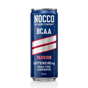 NOCCO BCAA Drink 0 Sugar 0 Carbs 1 x 330ml Can (8 Flavours) - theskinnyfoodco