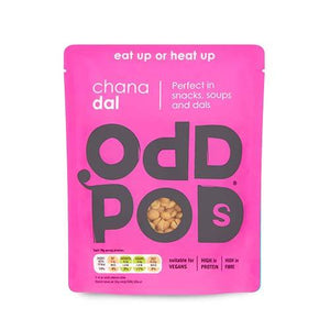 Oddpods No Nonsense Ready-to-Eat Pulses (Vegan) - theskinnyfoodco