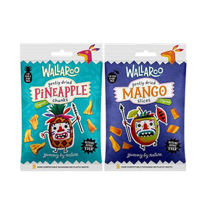 Organic Dried Fruit Snack Pack (30g) 1 of your five a day (2 Flavours) - theskinnyfoodco