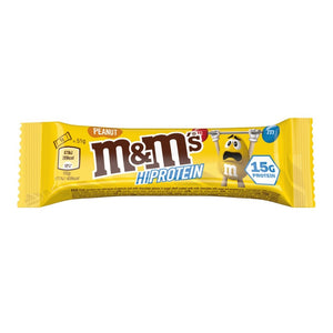 Peanut M&M's Hi-Protein Bar (51g Bars) - 15g Protein per serving - theskinnyfoodco