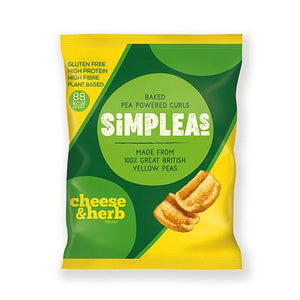 SIMPLEAS - 88 Calories Per Pack Healthy Snacking (3 Flavours) Vegan - theskinnyfoodco