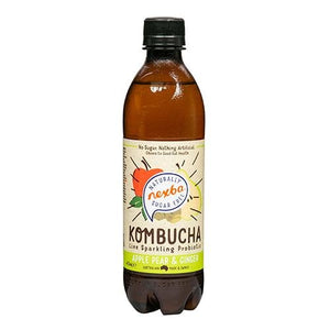 Sugar Free Sparkling Probiotic Kombucha Drinks 450ml (2 Flavours) - theskinnyfoodco