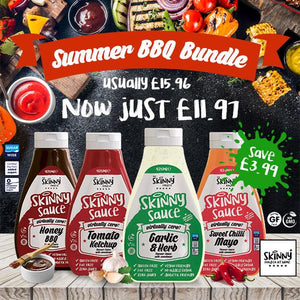 SUMMER BBQ BUNDLE ONLY £11.97 (Save £3.99) - theskinnyfoodco