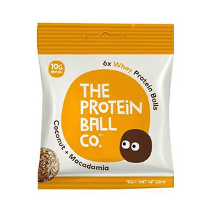 The Protein Ball Co. Whey Protein Balls 45g - All Natural Ingredients - theskinnyfoodco