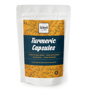 Turmeric Capsules (30 Tablets) - theskinnyfoodco