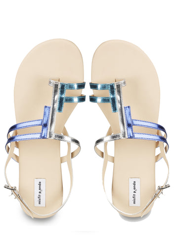 Shimmy Sandals