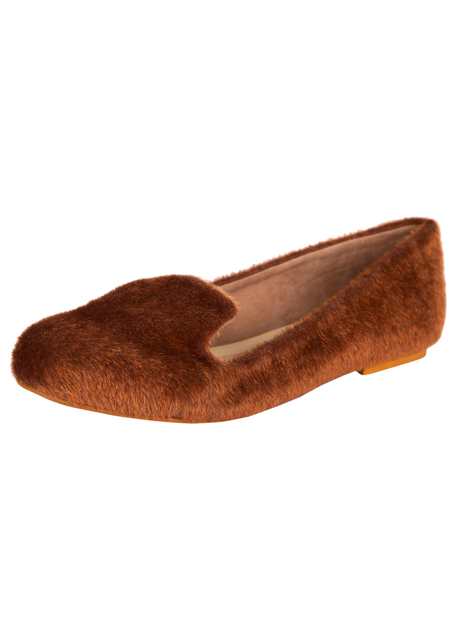 Faux Fur Loafers