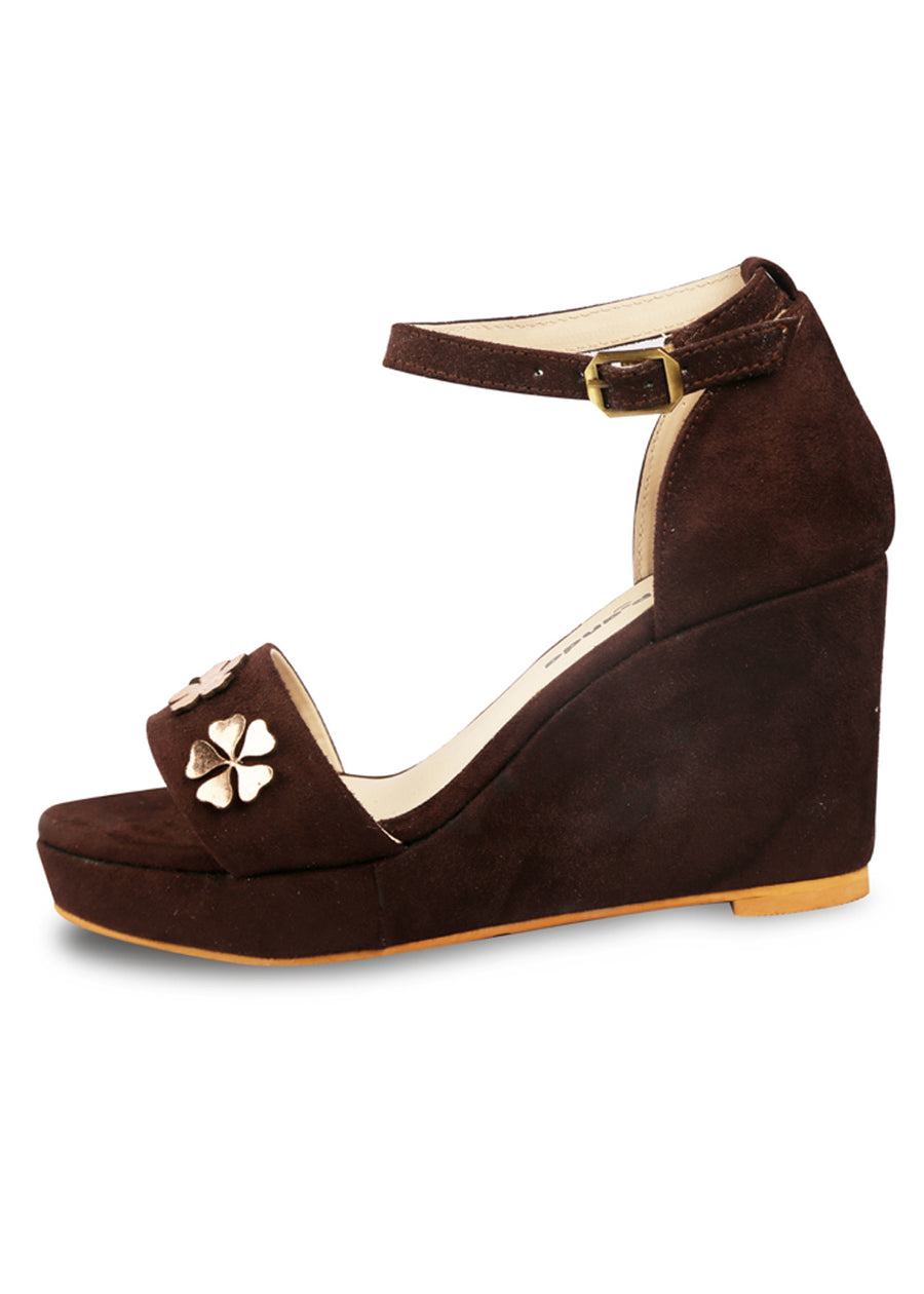 Luana Ankle Strap Wedges
