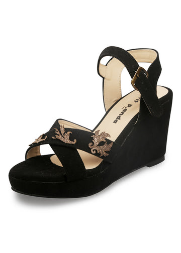 Mariana Embroidered Wedges