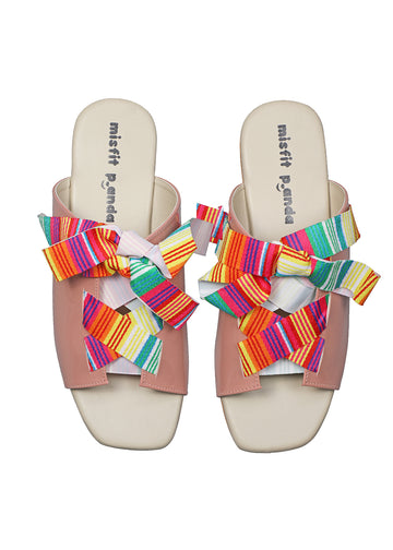 Ribbon Tie sandals