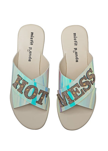 Hot Mess lasercut Sliders