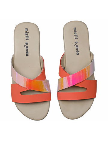Criss Cross Straps sliders