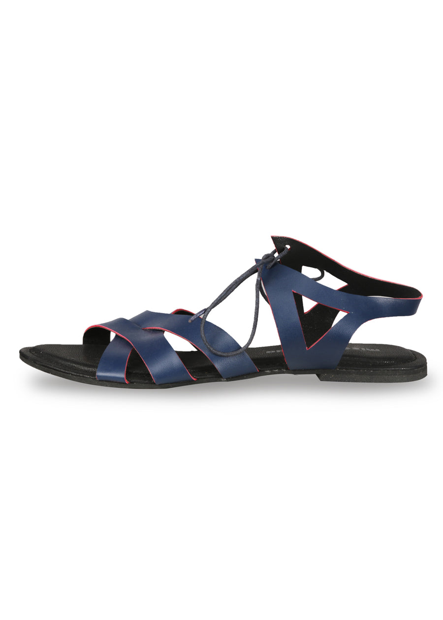 Zara Lace-Up Sandals