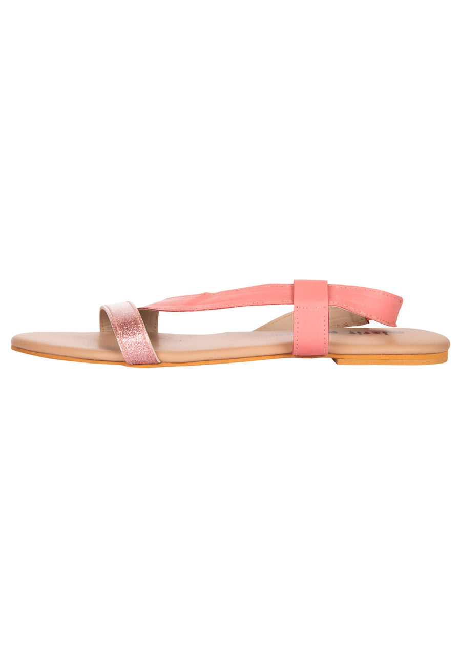Curved Strap Sandals