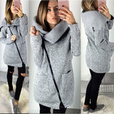2018 Long Cardigan Sweater Jackets